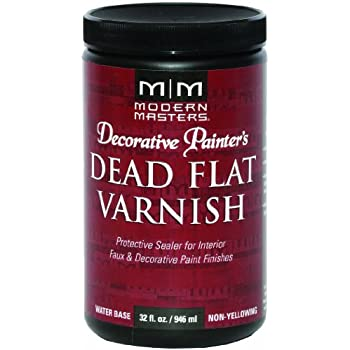 Amazon Com Modern Masters Dp609 32 Dead Flat Varnish 32