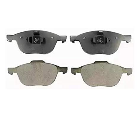 POSI QUIET Ceramic Pads TBP8424 FRONT TOPBRAKES Drill Slot Brake Rotors