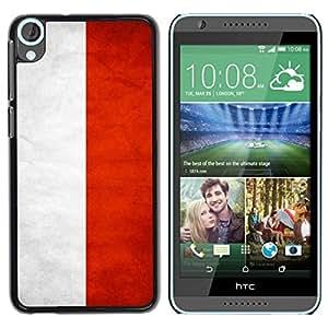Be Good Phone Accessory // Dura Cáscara cubierta Protectora Caso Carcasa Funda de Protección para HTC Desire 820 // National Flag Nation Country Indonesia