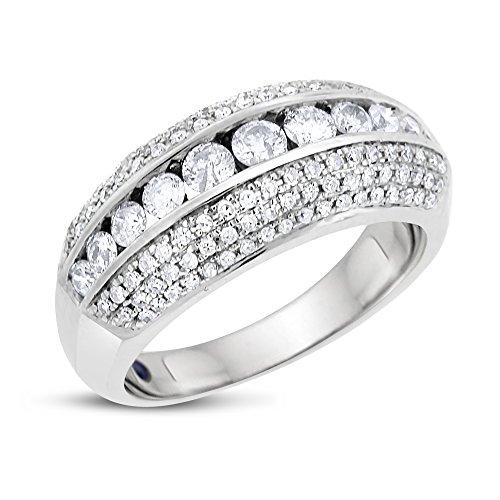 1.05 Ct Diamond Band - 6