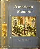 img - for American memoir book / textbook / text book