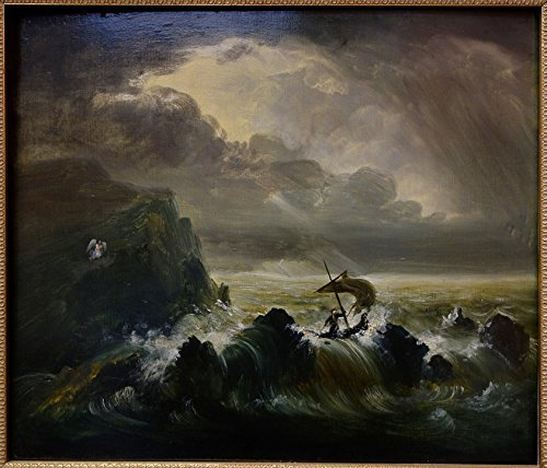 Home Comforts LAMINATED POSTER Painting Oil Museum Thomas Cole The Voyage Of Life Poster 24x16 Adhesive Decal (Thomas Cole Oil)