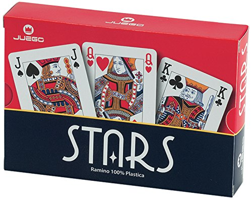 56 opinioni per Juego JU90016- Stars Ramino Gioco di Carte