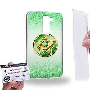 Case88 [LG G2 mini] Gel TPU Carcasa/Funda & Tarjeta de garantía - Sailor (Series Moon) Jupiter Compact Case Art1424