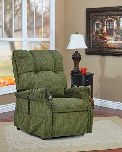 (Medlift 1153-DS Dawson Three-Way Reclining Lift Chair, Sage)