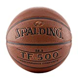 Spalding TF-500 Composite Indoor/Outdoor Basketball, Size 6/28.5""