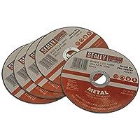 SEALEY PTC/100cet5 100 x 1 mm 16 mm boring doorslijpschijf (5 stuks)