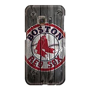 Samsung Galaxy S6 BgW1804nXeN Customized High-definition Boston Red Sox Hd Pattern Scratch Resistant Cell-phone Hard Covers -WayneSnook