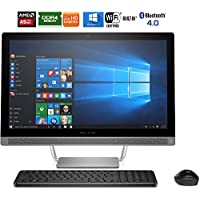 Hewlett Packard 24-b010 Pavilion 7th Gen AMD A9-9410 23.8 All-in-One PC - (Certified Refurbished)