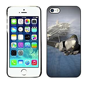 SHIMIN CAO- Dise?o Caso duro de la cubierta Shell protector FOR Apple iPhone 5 5S- US Air Force aircraft