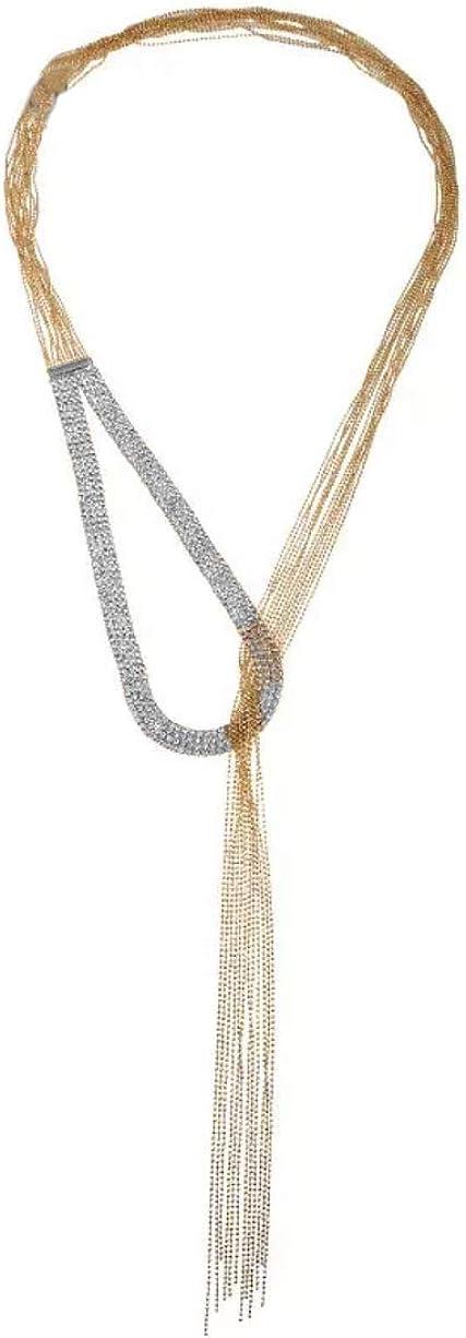 Nataliya Triple Layer Pendant Necklace
