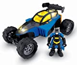 Fisher-Price Hero World DC Super Friends Transforming Batmobile And Batman