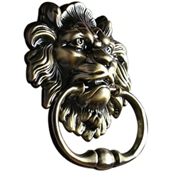 lion head door knocker tattoo antique necklace amazon
