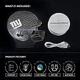 Bigfoot 3D LED Night Light Football Helmet Giants