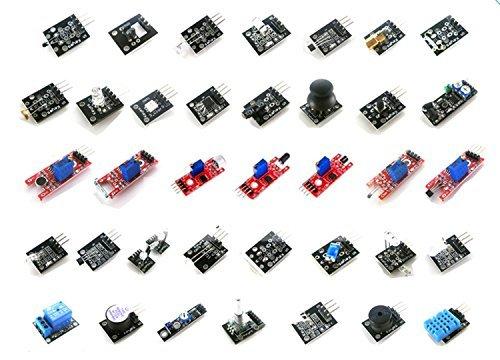 #LightningDeal 89% claimed: LANDZO 37 in 1 Sensor Kit for Arduino UNO R3