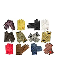 Real Soft Nappa Leather Men's Driving Gloves -D507