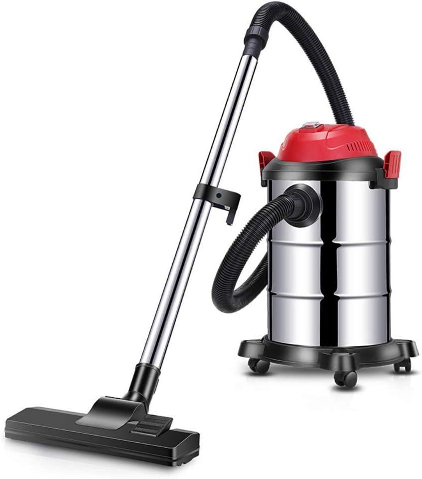 KaiKai Gran Capacidad de Limpiador de vacío del Frasco.Seco y húmedo Multiuso 20 kPa aspiradora Industrial, 15L-15L Plata (Color : Silver, Size : 15L): Amazon.es: Hogar