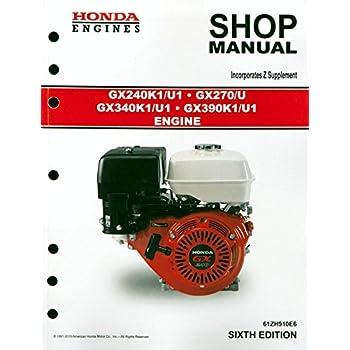 amazon com honda gx120 gx160 gx200 ut2 engine service repair shop rh amazon com Dell GX270 Drivers Honda GX270
