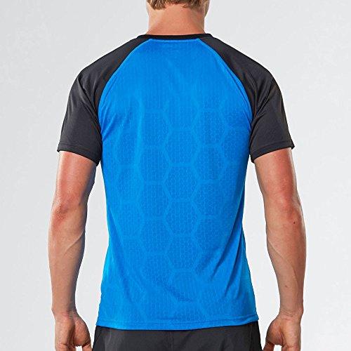À Course Courtes T 2xu Ss17 Tech Vent Manche shirt Pied Black qxSR6FwP