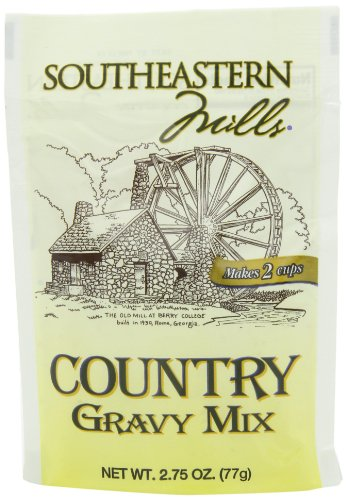 Southeastern Mills Country Gravy Mix, 2.75-Ounce (Pack of 24)