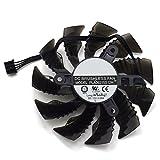 87MM PLA09215S12H DC 12V 0.55A 3Pin 4Pin Cooler Fan For Gigabyte GTX960 GTX970 Mini-ITX Graphics Video Card Cooling (4Pin)