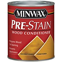 Minwax 134074444 Pre-Stain Wood Conditioner, 1/2 Pint