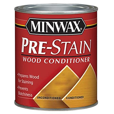 Minwax 134074444 Pre-Stain Wood Conditioner, 1/2 Pint (Pre Stain Conditioner)