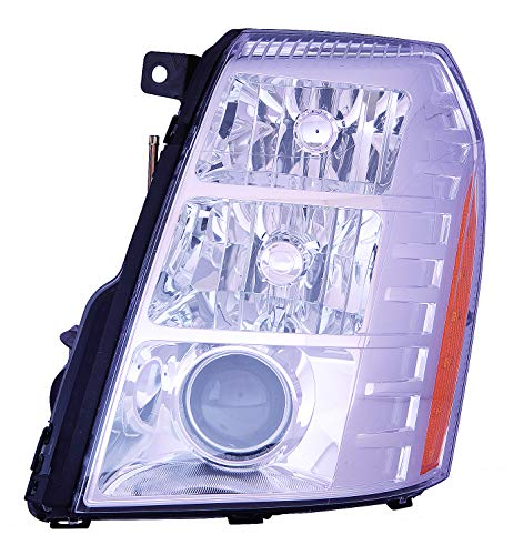 Depo 332-11B3L-ASHN Head Lamp Assembly (Cadillac Escalade 09-14/Escalade Esv 07-14/Ext/Hybrid 09-13with Hid 2Nd Design)