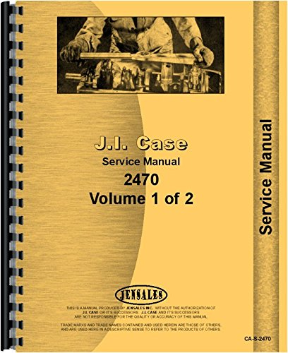 Case 2470 Tractor Service Manual (SN# 0-8762940) pdf epub
