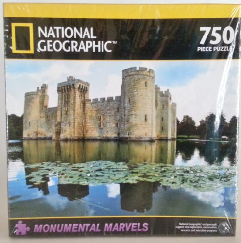 National Geographic 750 Piece Puzzle - Bodiam Castle, England