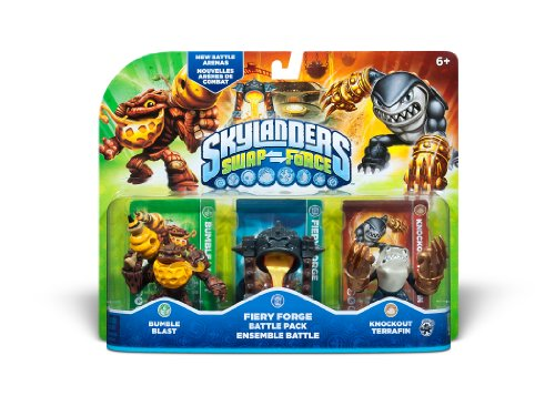Skylanders SWAP Force Fiery Forge Battle Pack
