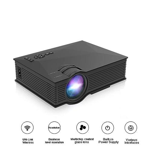 Juonjee Proyectores proyector de Cine en casa Full HD Lumen ...