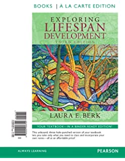 Amazon exploring lifespan development 3rd edition berk exploring lifespan development books a la carte edition 3rd edition fandeluxe Image collections