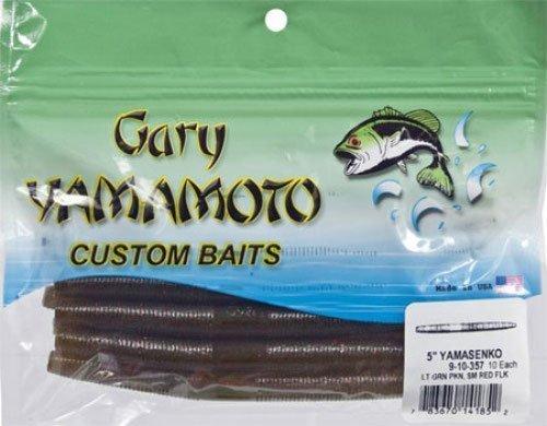 GARY YAMAMOTO SENKO  9-10-357  Pumkin w/ small red flakes by Yamamoto