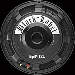"Electro-Voice EVM12LB Black Label 12"" Guitar Speaker, 8 ohms"