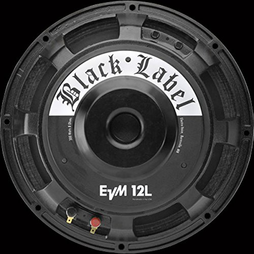 Electro-Voice EVM12LB Black Label 12'' Guitar Speaker, 8 ohms