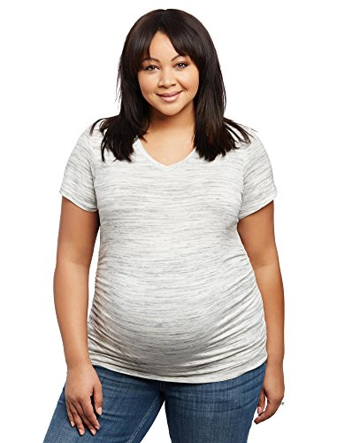 Motherhood Plus Ruched Maternity Shirt product image