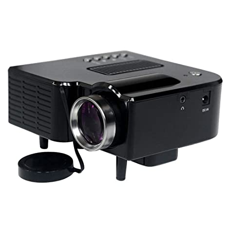 Tubayia DC12V Mini LED Proyector 1080P Home Cinema Proyector ...