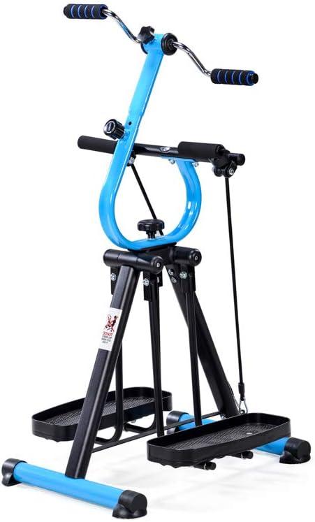 D-Mail - Bicicleta estática multifunción Master Gym
