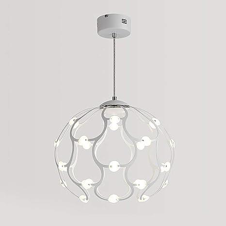 Lámpara Granos de araña LED VinDeng Moderno colgante Lámpara bfY76gvy