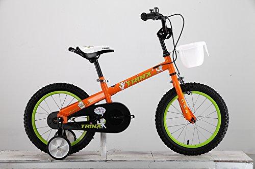 """BAYES Kinder-Rad Kinderfahrrad 12"""" 16"""" mit Stützräder blau rot weiß grün Orange bike"""
