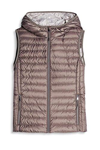 Grey Chaleco Esprit Mujer 030 para Gris I4qnwqBC87