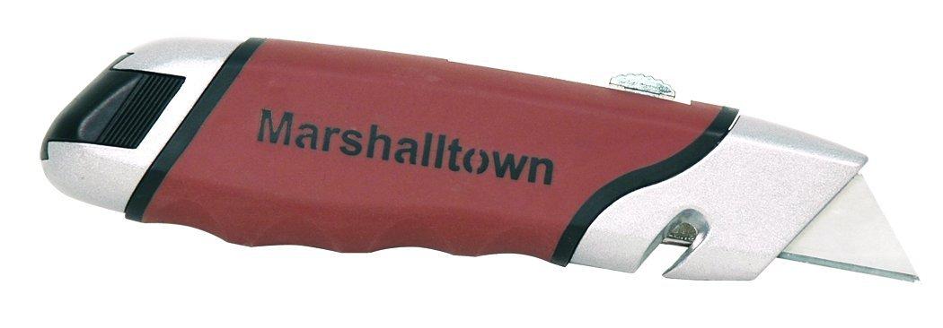 MARSHALLTOWN The Premier Line 9058 DuraSoft Utility Knife with Slide Storage