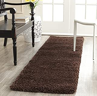 Safavieh Milan Shag Collection SG180-2525 Brown Runner (2' x 10') (B01GS3M1KO) | Amazon price tracker / tracking, Amazon price history charts, Amazon price watches, Amazon price drop alerts