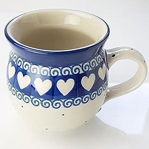 Polish Pottery Gents Mug – Light Hearted