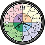 Amazoncom MATH CLASS Wall Clock mathematics teacher classroom
