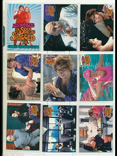 Austin Powers Trading Cards Set (72) Cards 1999 Spy Who Shagged Me from Cornerstone