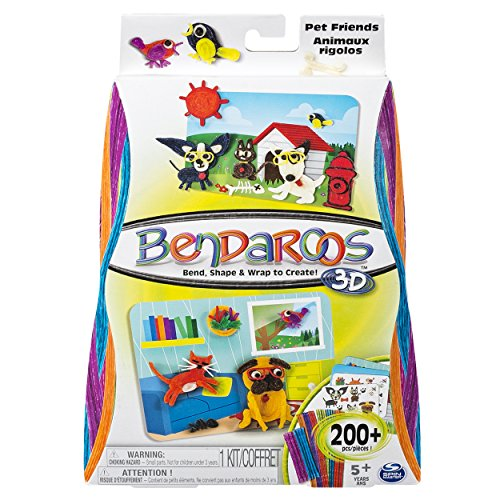 Bendaroos 3D, Pet Friends Kit