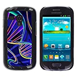 All Phone Most Case / Hard PC Metal piece Shell Slim Cover Protective Case for Samsung Galaxy S3 MINI NOT REGULAR! I8190 I8190N Science Biology Life Scientist