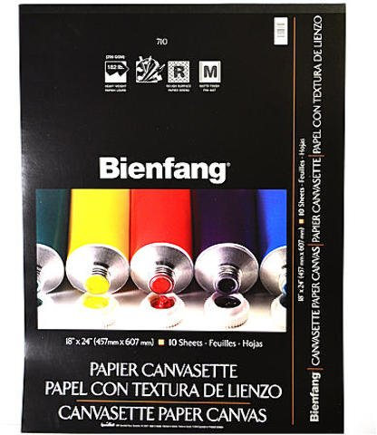 Bienfang Canvas (Bienfang Canvasette Paper Canvas (18 In. x 24 In.) 1 pcs sku# 1832362MA)